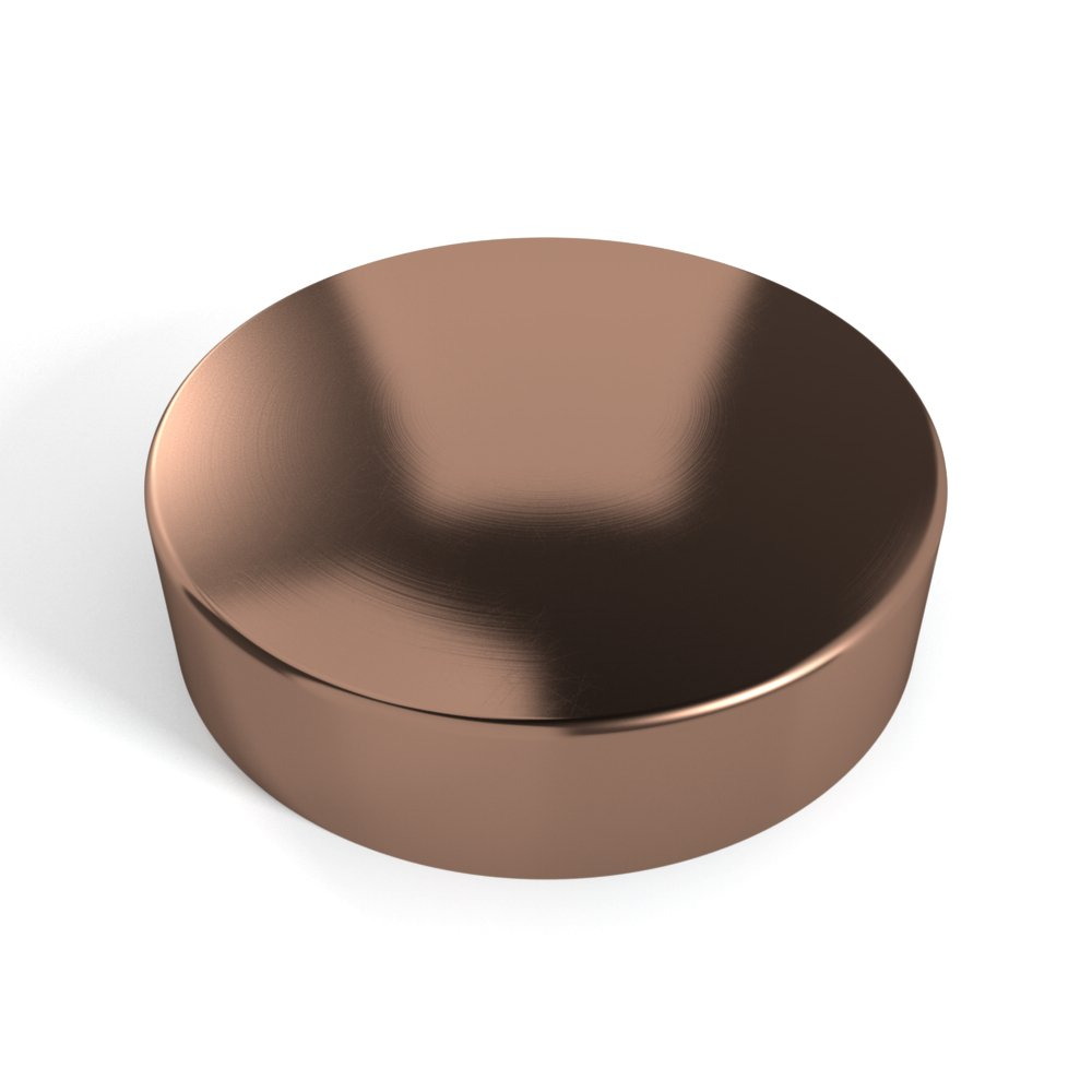 Willy's Marine Hardware Copper Round Metal Piling Cap