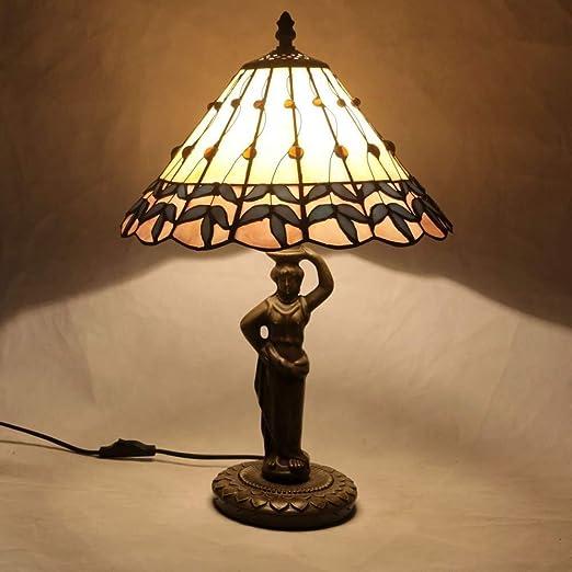 ZHAO YING Lámparas de Mesa Vintage de 12 Pulgadas, lámpara de ...