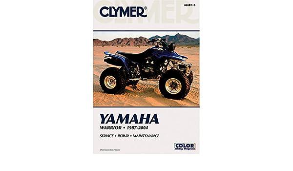 Clymer M487-5 ATV//UTV Manuals