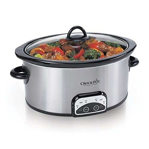 Crock-pot Sccpvp400-s Smart-pot Slow Cooker, Silver - 4 Q...
