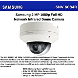 SS183 - SAMSUNG SNV-6084R 2MP HD (1080P) WDR NETWORK IR IP66 VARIFOCAL LENS DOME CCTV CAMERA POE