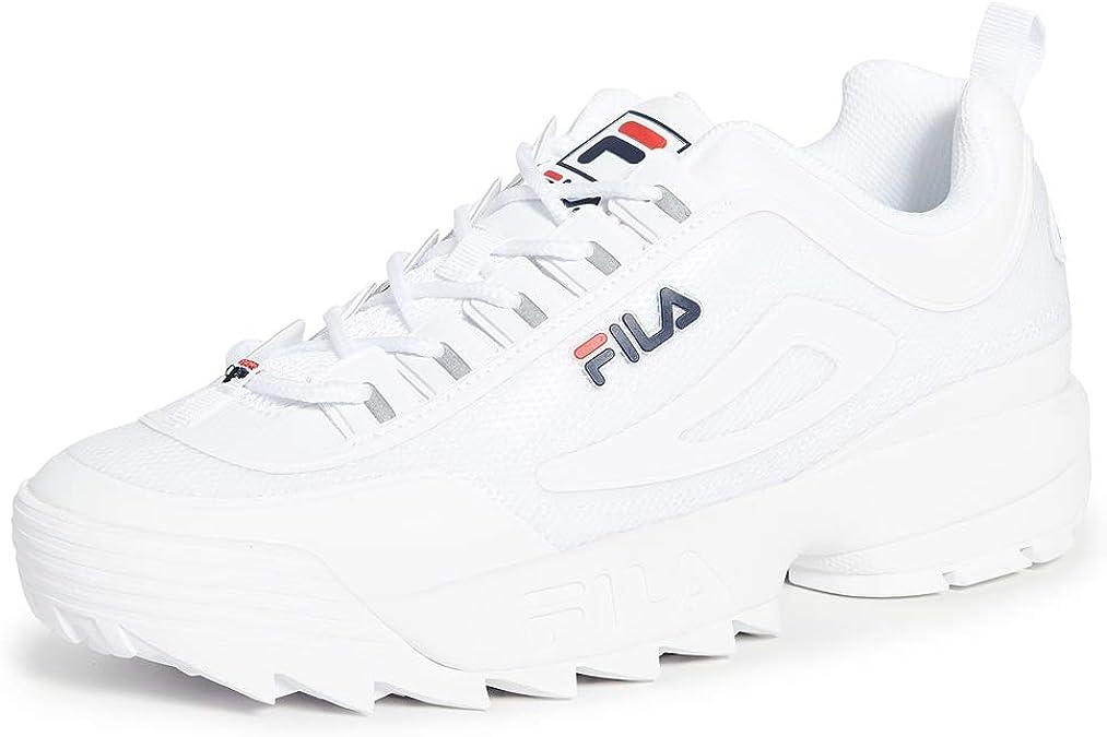 Fila Disruptor 2 No Sew White