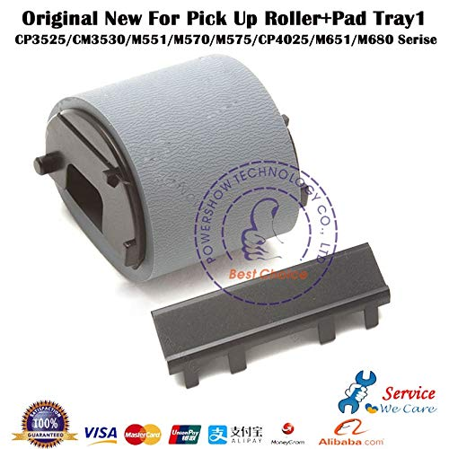 Printer Parts Original New CD644-67903 RL1-1937 RL1-1928 CC493-67906 RL1-2184 Tray1 Pick up Roller + Pad for HP3525 HP3530 HP4025 HP4525 etc