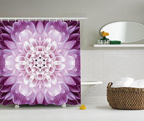 Mandala Ambesonne Photography Polyester Bathroom