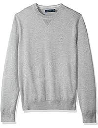 Men's Light Weight Crew Neck Solid Sweater
