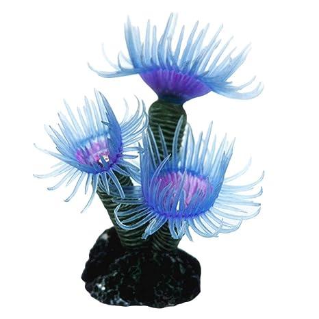 collectsound - Figura Decorativa para Acuario, diseño de pecera, Color Coral