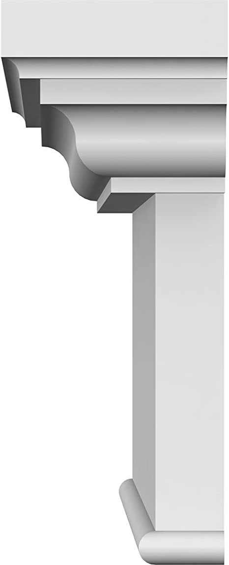 Amazon Com Ekena Millwork Crh07x38bt Craftsman Crosshead With Bottom Trim 38 Width X 42 Top Width Factory Primed And Ready For Paint Home Improvement