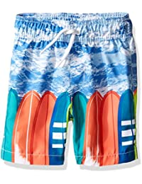The Children's Place Boys' Printed Trunks Swim Shorts