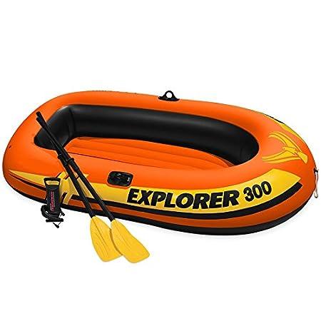 Amazon.com: oldzon Explorer 300 - Barco hinchable compacto ...
