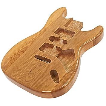 Cuerpo de Guitarra Eléctrica Fresno Natural: Amazon.es: Instrumentos musicales