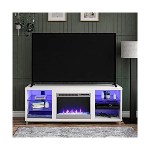 fireplace tv stand 70 inch