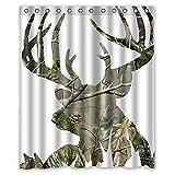 camo deer picture Waterproof Fabric Poly