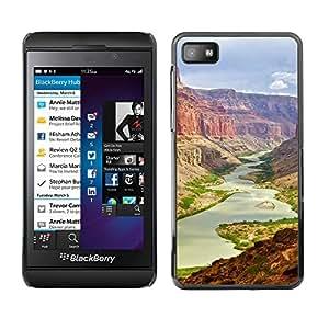 EJOY---Cubierta de la caja de protección la piel dura para el / Blackberry Z10 / --gran Cañón