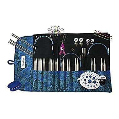 Hiya Hiya 5 Inch Sharp Limited Edition Interchangeable Needle Set with Circular Case