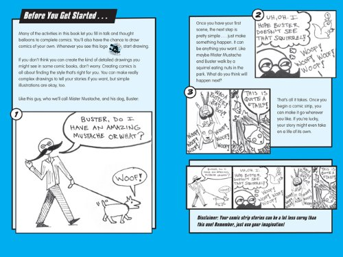 Your Life in Comics: 100 Things for Guys to Write and Draw by Free Spirit Publishing (Image #2)