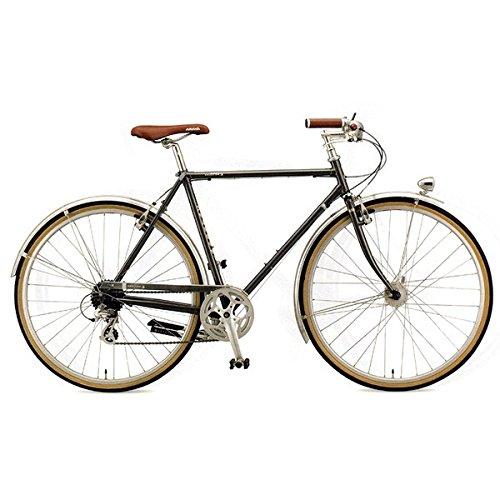 ARAYA(アラヤ) クロスバイク SWALLOW Promenade Gents(PRM) スチールグレー 500mm B07673C95Y