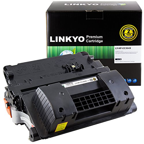 (LINKYO Compatible Toner Cartridge Replacement for HP 64X CC364X (Black, High Yield))