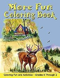 More Fun Coloring Book
