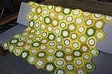 Crochet afghan Crochet Blanket Handmade Blanket Kaleidoscope Granny Square afghan 35.4*47.2 inches(90*120CM)