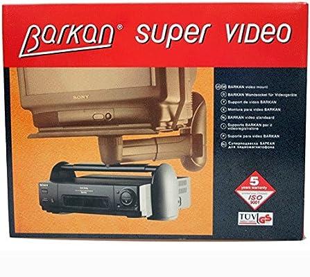 Barkan VS.G - Módulo Soporte para Video/TDT/Disco Duro (MAX.9Kg): Amazon.es: Electrónica