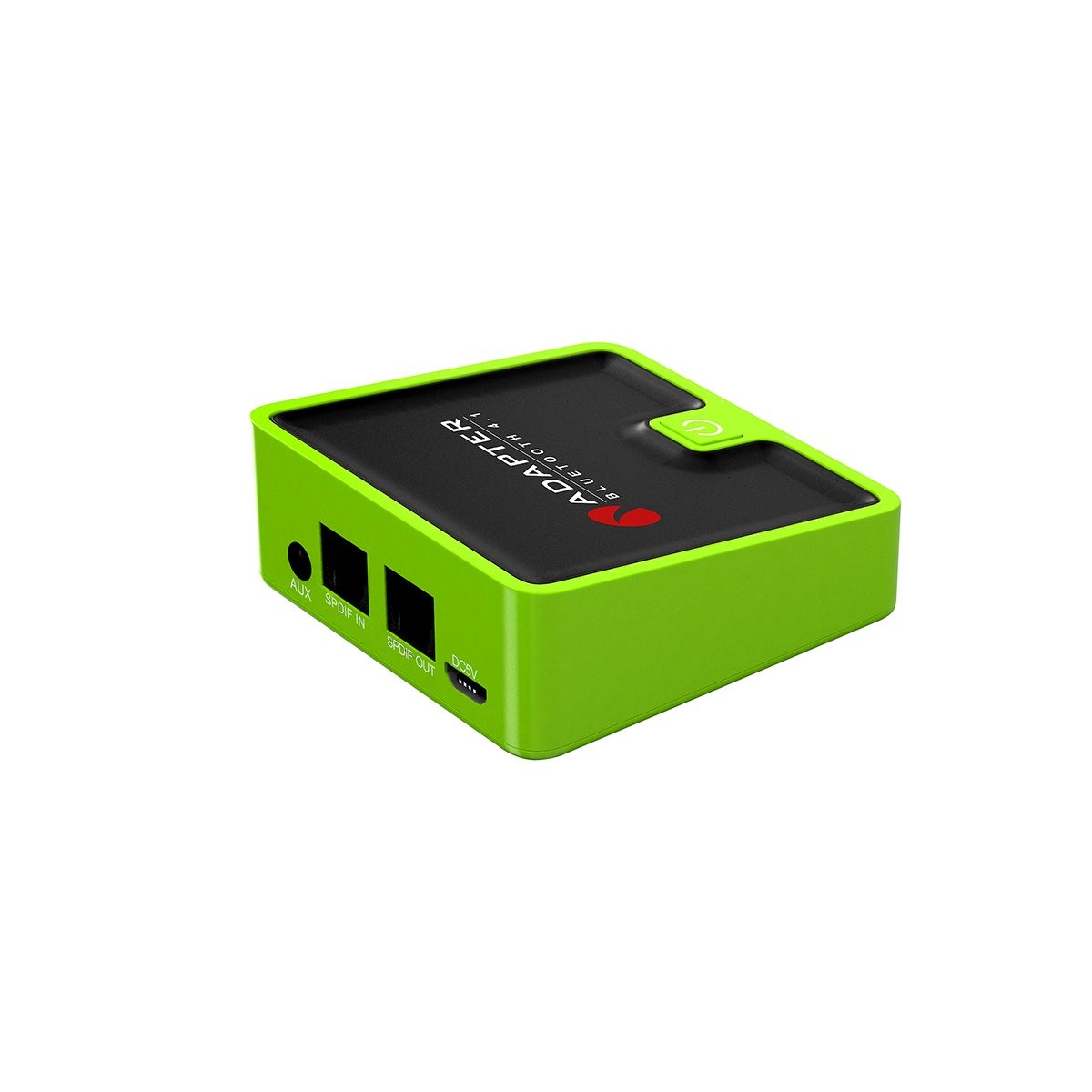 Vacio TI-039 Bluetooth 4.1 2in1 Transmitter Receiver Digital Optical Wireless Audio Adapter Support APT-X aptx / Wireless A2DP Audio Adapter with SPDIF & Aux 3.5mm -Green by Vacio (Image #4)