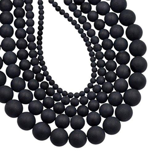 - AD Beads Smooth Natural Gemstone Round Loose Beads 15