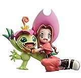 Megahouse Digimon Adventure: Mimi Tachikawa and Palmon G.E.M. PVC Figure