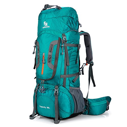 ONEPACK 80L Internal Frame Hiking Backpack for Women and Men, Climbing Backpack fit Outdoor Travel Mountaineering Camping