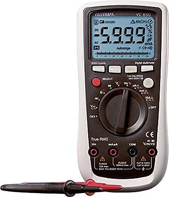 Voltcraft Digital Multimeter VC850; CAT III 600 V