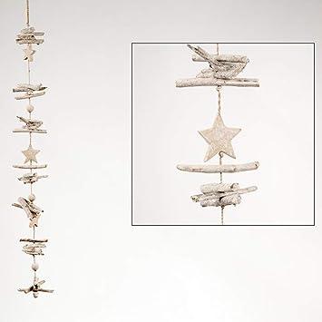 Dijk Natural Collections Treibholzgirlande Stern 100 Cm