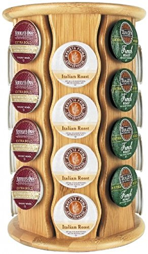 Keurig By Capital Products Bamboo K-cup Carousel; 32-cup; New;