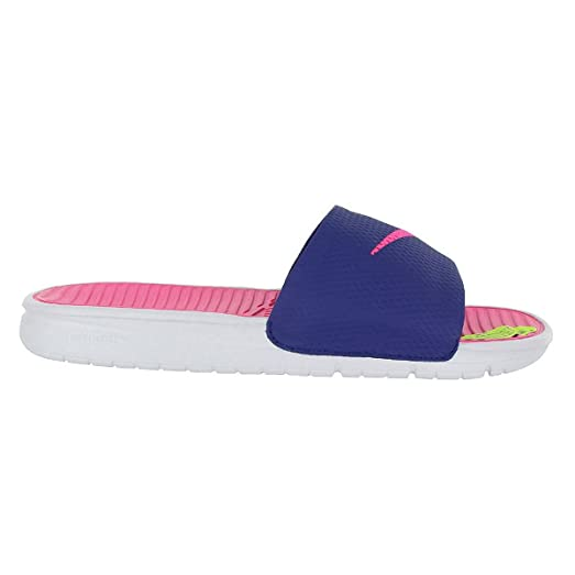 Womens Benassi Slide Solarsoft Synthetic Sandals