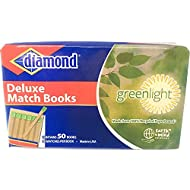 Diamond Deluxe Greenlight Match Books - 1000 Matches