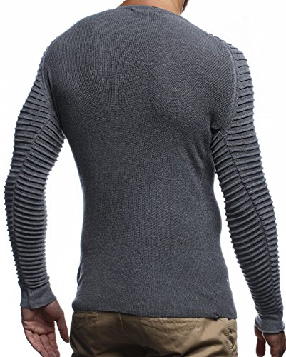 Sweater Nelson Leif Leif Leif Anthrazit Anthrazit Sweater Nelson qB7tO6w