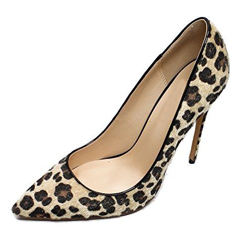 La Donne 3 Per Della Aguzza Punta Profonde Quotidiana Poco Qianzulian Leopardo Vita Tallone Leopardo Stiletti Delle Pompe Pattini SxHwqOF