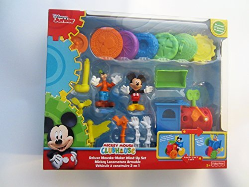 Disney Mickey Mouse Clubhouse Deluxe Mouska-Maker Wind-Up 17 Piece Set
