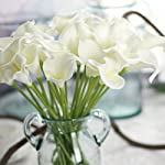 uxcell-Banquet-Bridal-Wedding-Bouquet-Gift-Calla-Lily-Artificial-Flowers-12-Pcs-White