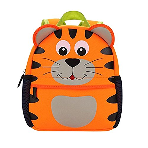 Child Tiger - Yeelan Waterproof School Bag/Backpack for Kids (Tiger large size)