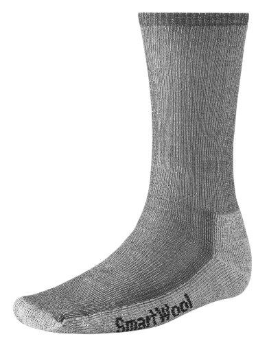 SmartWool Men's Hike Medium Crew Socks (Gray) Large
