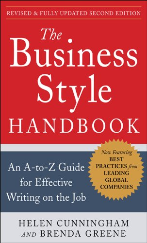 (The Business Style Handbook, Second Edition:  An A-to-Z Guide for Effective Writing on the Job)