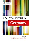 Policy Analysis in Germany, , 1447306252