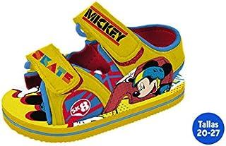 Sandales été enfant Mickey jaune–Taille E2–Taille E2 IDEALCASA KIDS