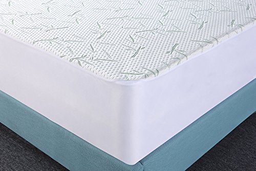 Free Shipping Waterproof Bamboo Mattress Protector