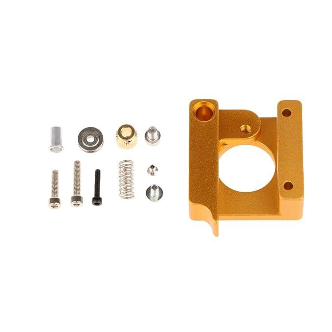 perfk Kit De Extrusor Remoto MK8 Todo Metal para Impresora ...
