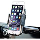 Bestrix Universal CD Slot Phone Holder for Car Ideal for iPhone X, 8, 7, 6, 6S Plus. 5S, 5C, 5, Samsung Galaxy S5, S6, S7, S8, Edge/Plus Note 4,5,8, LG G4, G5, G6, All Smartphones up to 6""