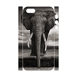 VNCASE Elephant Phone Case For iPhone 5,5S [Pattern-1]