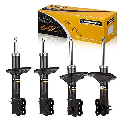 Maxorber 4 Pieces Full Set Shocks Struts Absorber Front Rear Kit Compatible with 1993 1994 1995 1996 1997 Mazda MX-6 & Mazda 626 & Ford Probe 235601 235602 235603 71628 71629 71660 801660