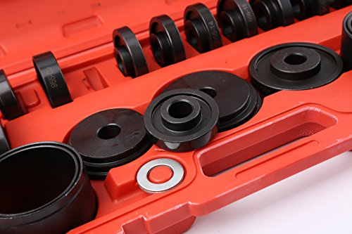 WIN.MAX 23 Pcs FWD Front Wheel Drive Bearing Adapters Puller Press Replacement Installer Removal Tool Kit by WIN.MAX (Image #7)