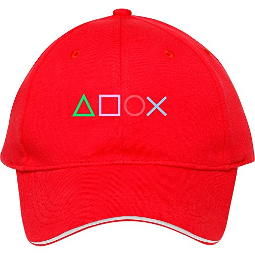 Fashion Gamer Red Snapback Cap Hat Male/female Baseball Cap Cotton ()