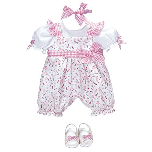 Adora Playful Picnic Romper Dress Clothes Outfit Set Pack for 18 Inch Dolls